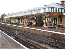 Sheringham Station on the North Norfolk Railway