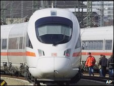 German train (file image)