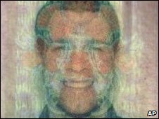 Photo on passport of Melvyn Adam Mildiner released by Dubai Police