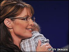Sarh and Trig Palin