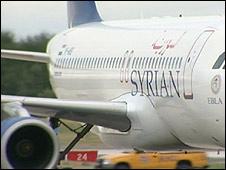 Syrianair plane