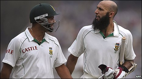 Ashwell Prince and Hashim Amla