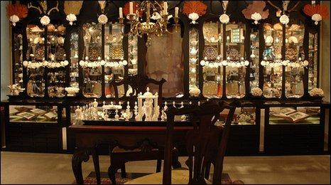 Jane Wildgoose installation at the Sir John Soane's Museum
