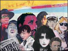 We Love 77 exhibition