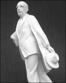 Model of Larkin sculpture