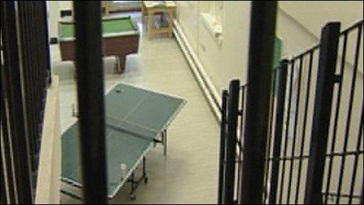 Inside Guernsey Prison
