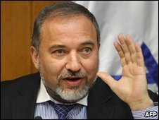 Israeli Foreign Minister Avigdor Lieberman
