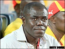 Ghana's under-20 World Cup winning coach Sellas Tetteh