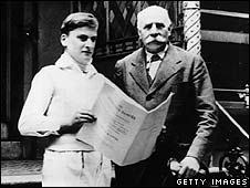 Yehudi Menuhin and Edward Elgar