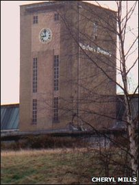 The former Marstons Brewery, Holt Road, Wrexham, courtesy Cheryl Mills