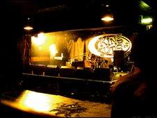 King Tut's stage