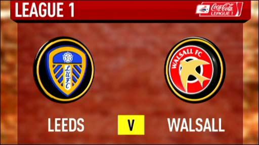 Leeds 1-2 Walsall