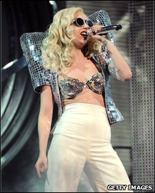 Lady Gaga, performing in New York last month