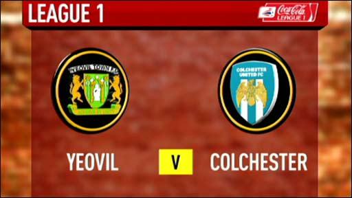 Yeovil 0-1 Colchester