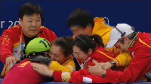 China's new world record holder Wang Meng