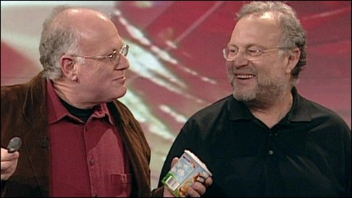 Ben Cohen and Jerry Greenfield, founders of Ben and Jerry's ice cream