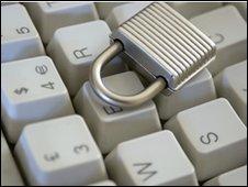 Lock on computer