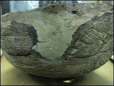 "The ""ngoma lungundu"" wooden vessel"