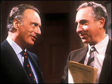 Paul Eddington and Nigel Hawthorne