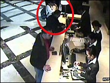 CCTV footage shows Hamas militant Mahmoud al-Mabhouh before his alleged assassination