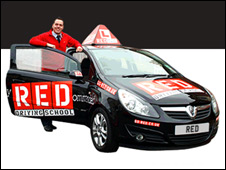 Red Driving School promotional image
