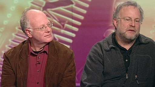 Ben Cohen and Jerry Greenfield - founders of Ben & Jerry's icecream