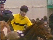 Hywel Davies on Last Suspect after the Grand National in 1985