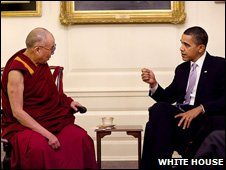 President Obama and the Dalai Lama
