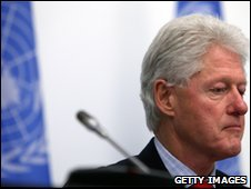 Bill Clinton, UN special envoy to Haiti