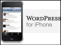 wordpress iphone pic