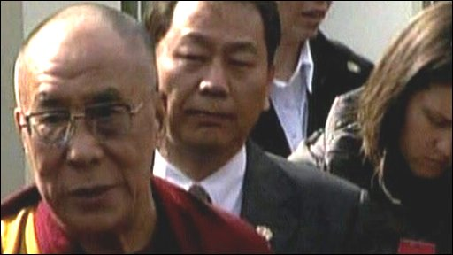 Dalai Lama talks about his meeting with President Obama