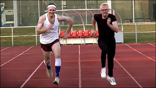 Chris Evans's Friday sporting challenge - Pentathlon