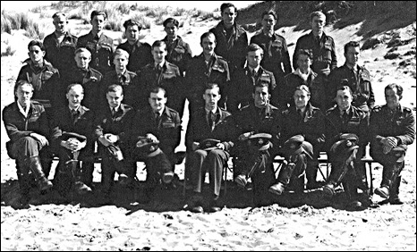 198 Squadron pilots at Llanbedr during April1944