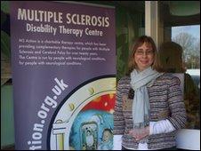 Amanda Knight, who has multiple sclerosis