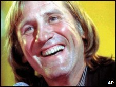 French actor Gerard Depardieu (file image)