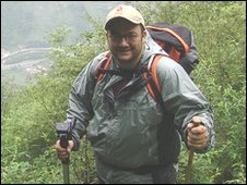 Professor Mike Bruford in China