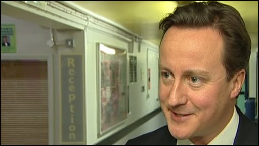 David Cameron says Aston Villa have a great team and a great manager