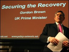 Gordon Brown at the Progressive Governance Conference