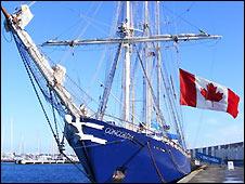 Concordia docked