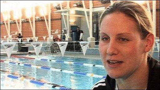 GB swimmer Jo Jackson