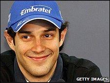 Campos driver Bruno Senna