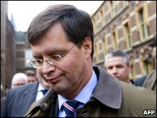 Dutch Prime Minister Jan Peter Balkenende