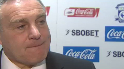 Cardiff City boss Dave Jones