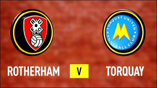 Rotherham 1-1 Torquay