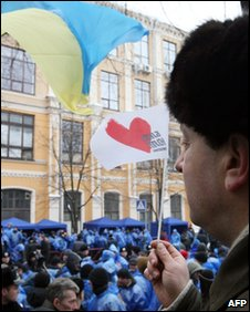 Supporters of Tymoshenko