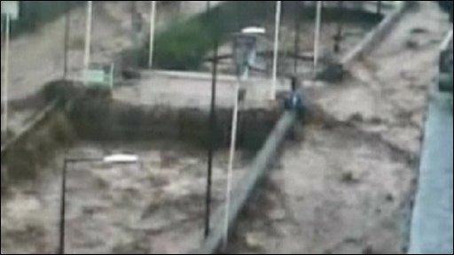 Funchal flooding