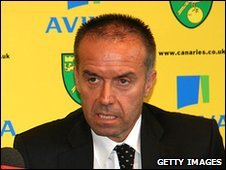 Norwich City chief executive David McNally