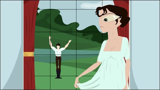 The Regency Dress, an animated short film by Huw Churchman