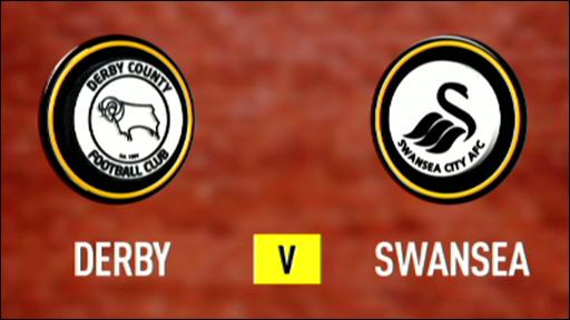 Derby 0-1 Swansea