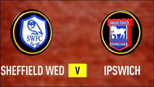 Sheffield Wednesday 0-1 Ipswich